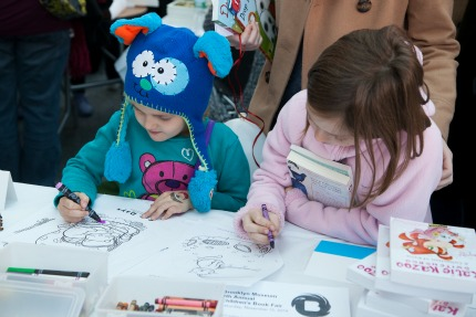 Children's Book Fair at the Brooklyn Museum