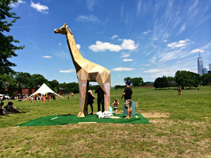 Figment sculptures on Governors Island