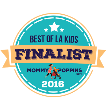 LA School of Gymnastics made into Best of LA Mommy Poppins