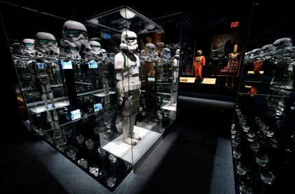 Stormtroopers at Star Wars and the Power of Costume Exhibit