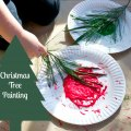 WeeWork Holiday Crafts: Make Christmas Tree Painted Wrapping Paper