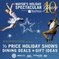 Mayor's Holiday Special 2013 - Half-Price Tickets and Restaurant Discounts