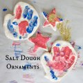 WeeWork Holiday Crafts: Easy Salt Dough Handprint Ornaments