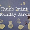 WeeWork Kids Craft: Easy Handmade Thumbprint Holiday Cards