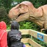 Along the way, you come face-to-face with a T. rex...