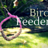 Toddler Nature Craft: Make Pipe Cleaner Bird Feeders