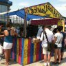 You'll find all kinds of eclectic eats at the newly expanded Smorgasburg