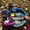 WeeWork Toddler Activity: Fall Sensory Bin