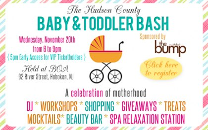 The Hudson County Baby & Toddler Bash