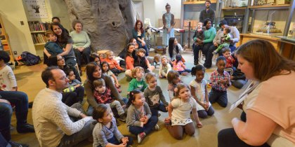 Gateway Storytime in the Discovery Room