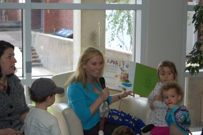 3rd Annual Great Children's Read at the Mandell JCC in West Hartford