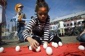 Spring Equinox Egg Balancing Ceremony with Urban Shaman Mama Donna