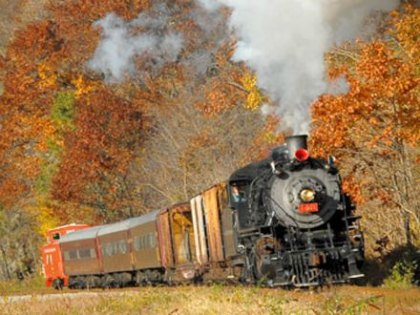 Halloween Trains in New Jersey