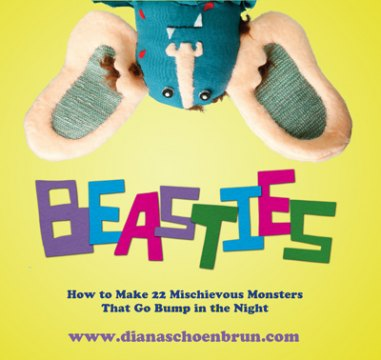 Valentine's Day Crafts - Make a  Beastie for Your Sweetie.