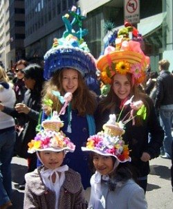 Easter Weekend for NYC Kids: Free Egg Hunts, Easter Parade, New Museum Exhibits April 4-5
