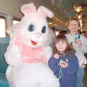 GIVEAWAY! Tickets for Easter Bunny Train and Egg Hunt in New Jersey