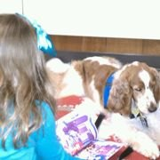 NJ Kids Read to Therapy Dogs