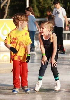 LA's Outdoor Ice Skating Rinks from Downtown to Thousand Oaks