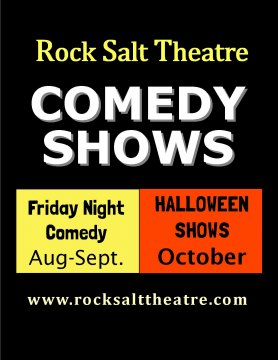 Rock Salt Family Comedy Theatre - Family Comedy Shows & Halloween Shows