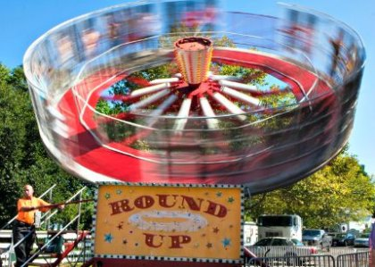 Labor Day Weekend for NYC Kids: Carnival Rides, Tug Boats, Butterflies and Unicycles