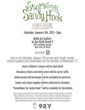Stories for Sandy Hook: A Benefit Reading