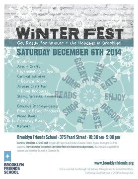 Family Winter Festival & Craft Fair