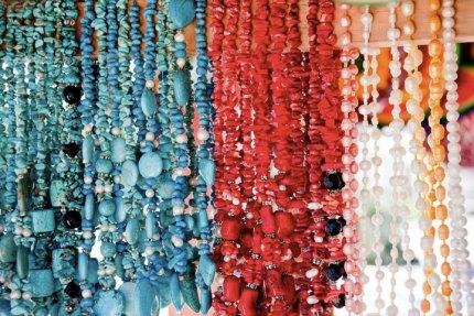 Local jewelry.