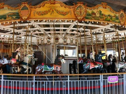 After years of restoration, the historic B&B Carousell is back in Coney Island