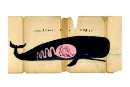 Oliver Jeffers' original art in The Exploded Mind of Mulholland Hwang