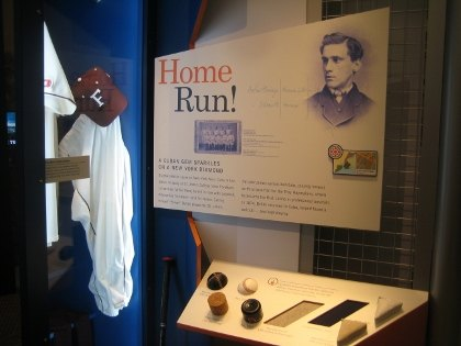 Explore the history of baseball