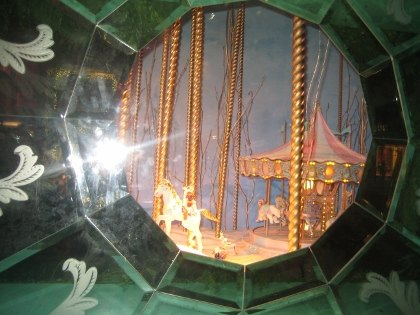A porthole at Tiffany & Co.