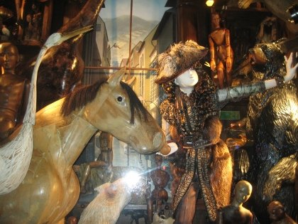Bergdorf Goodman's animal-themed windows