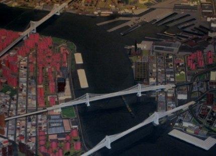 Brooklyn, Manhattan and Williamsburg Bridges