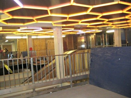 Hive lights up Bleecker Street's uptown 6 subway station