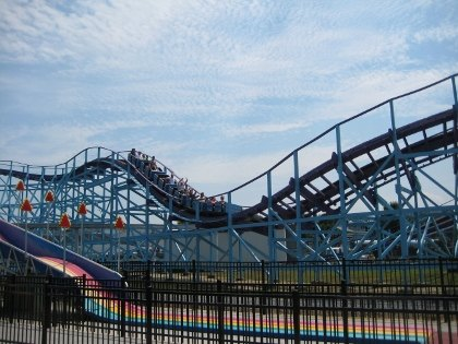 The Kingdom Coaster at Dutch Wonderland