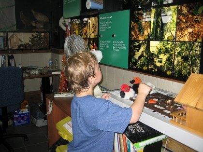 Inside the Nature Center