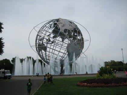 The iconic Unisphere