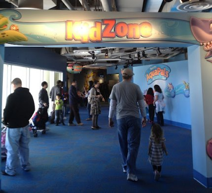 Entrance to KidZone!