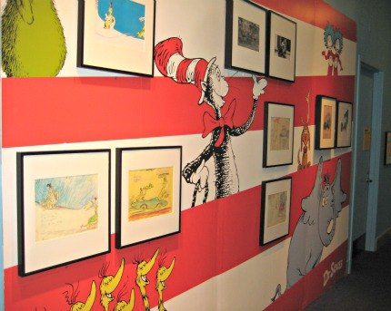Check out Dr. Seuss' original artwork and personal artifacts