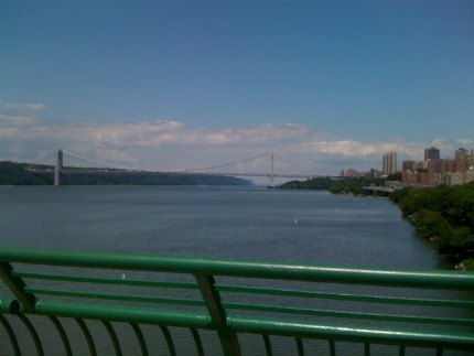 Gorgeous views of the George Washington Bridge