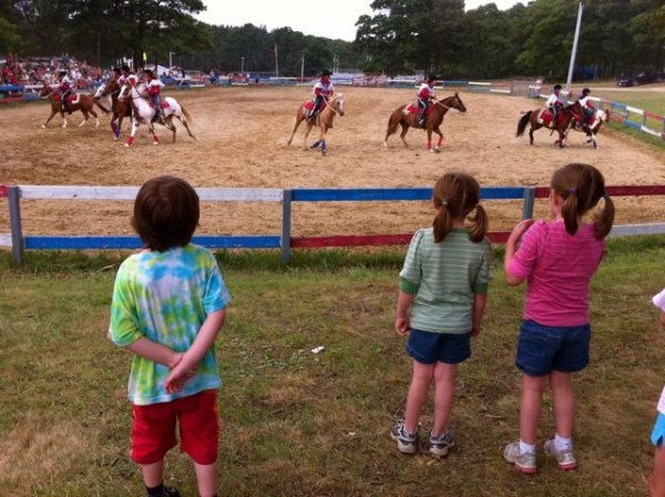 Equestrian Show at the Barnstable County Fair
