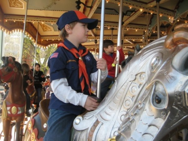 Taking a spin on Jane's Carousel
