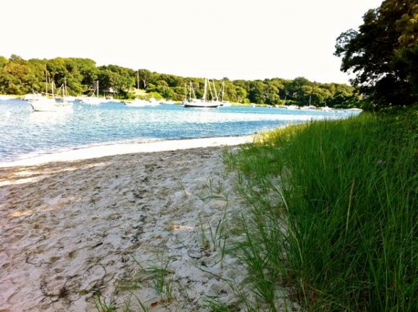 LIttle Sandy Beach in the late afternoon