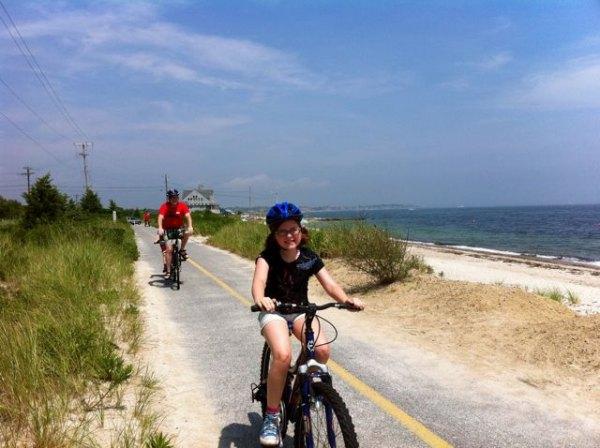 Riding the Shining Sea Bike Path