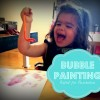 WeeWork Kids Craft: Bubble Painting