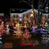 Home Holiday Light Displays in Connecticut