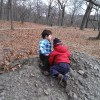 Exploring Franklin Park with Toddlers