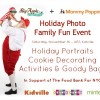 Photos with Santa (or without) at the Mommy Poppins Family Fun Holiday Event