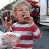 Santa Monica Food Truck Lot - A Family Night Out