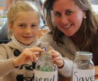 Mothers and daughters learn financial good sense at Make it Count! Photo courtesy of Moms as Mentors